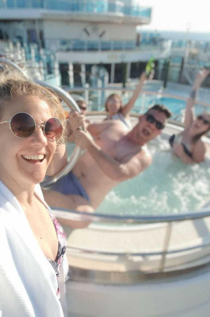 Regal Princess pools