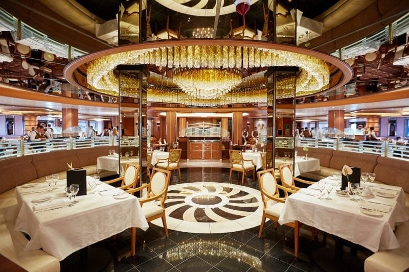 Princess Cruises food review