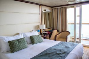Regal Princess balcony cabin