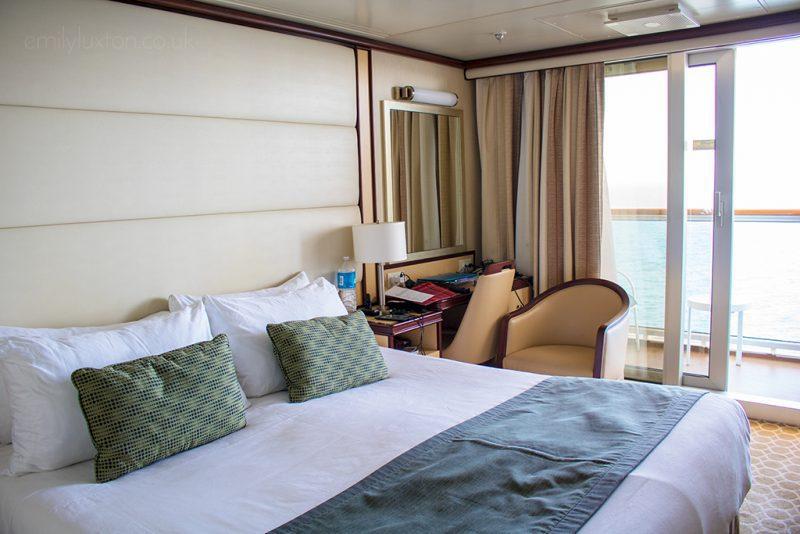 Regal Princess balcony cabin review