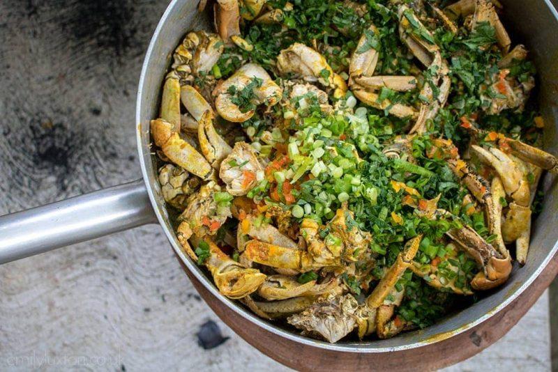 Cap Maison St Lucia food