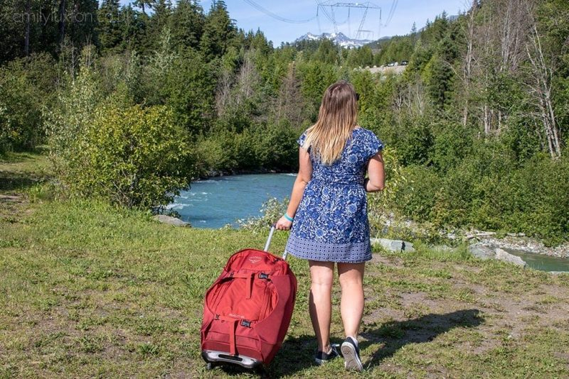 Trek America Mountie packing list