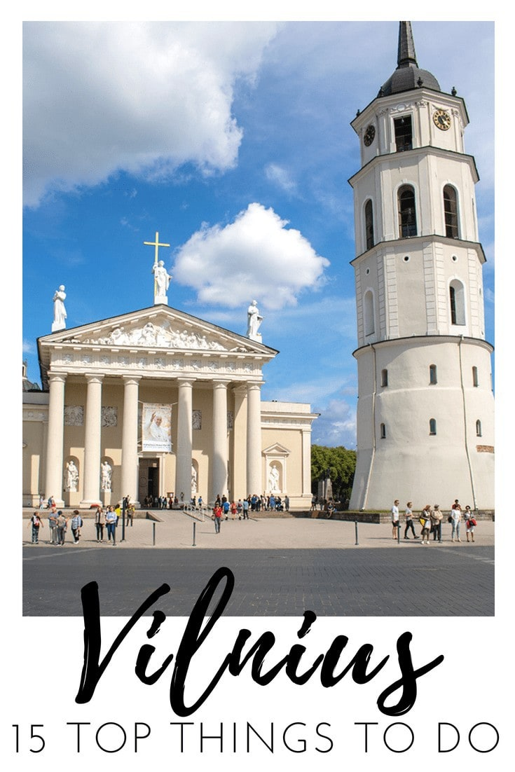 15 of the Best Things to do in Vilnius