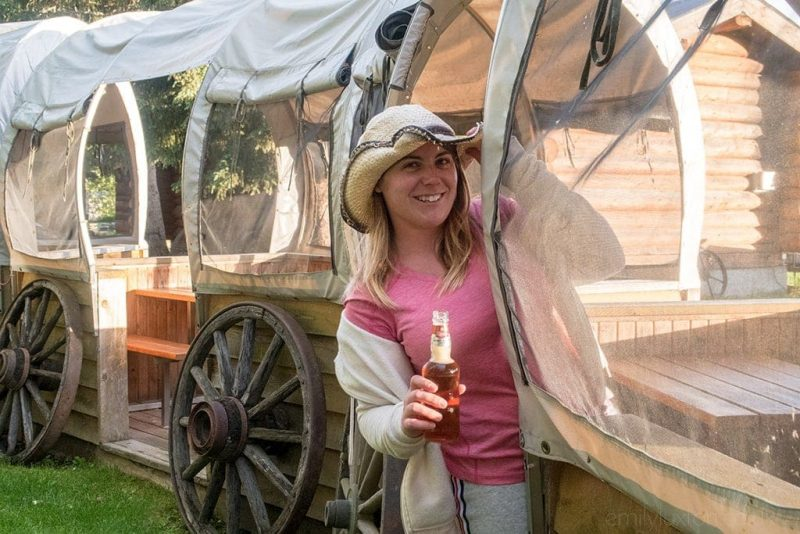 Trek America campsites