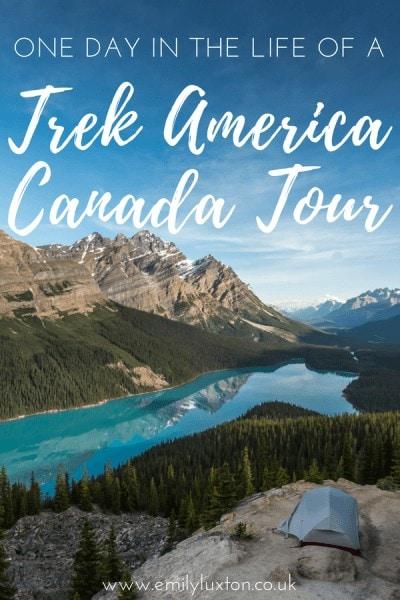 Trek America Canada - Icefields Parkway Highlights
