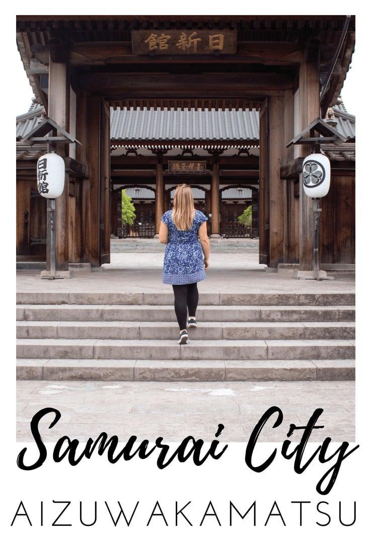 Discovering my inner samurai in Aizuwakamatsu
