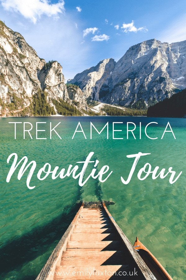 trek america canada tour