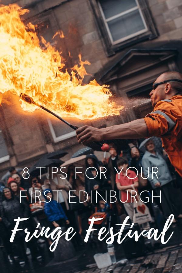 8 tips for your first Edinburgh Fringe Festival