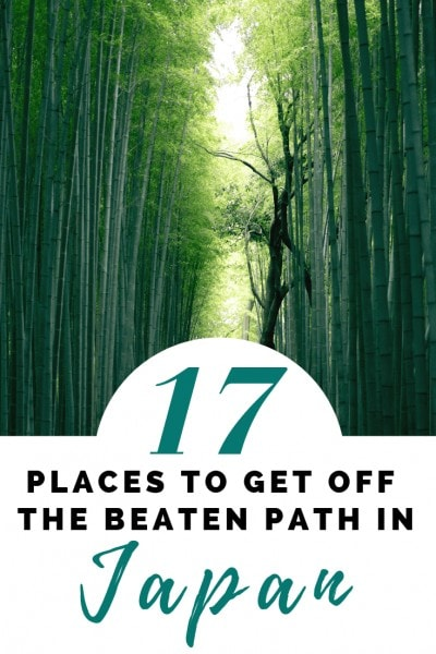 17 off the beaten path destinations in Japan