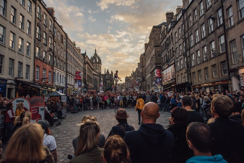 tips for your first edinburgh fringe festival