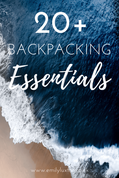 20 Backpacking Essentials with Checklist