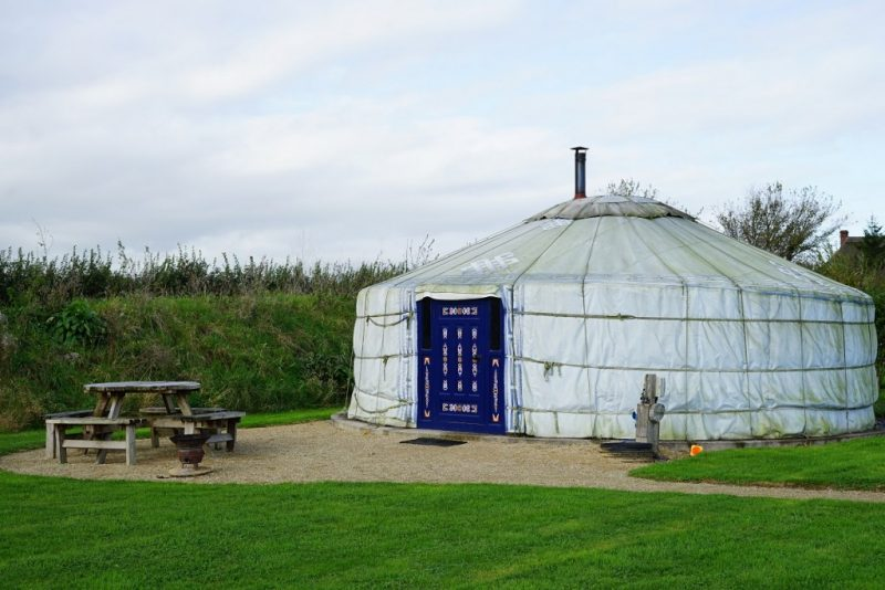 best glamping in dorset