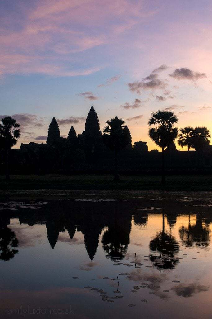 One day in Angkor Wat