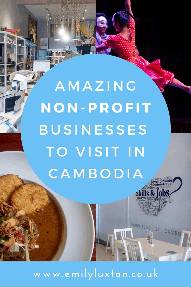 4 Non Profit Businesses in Cambodia
