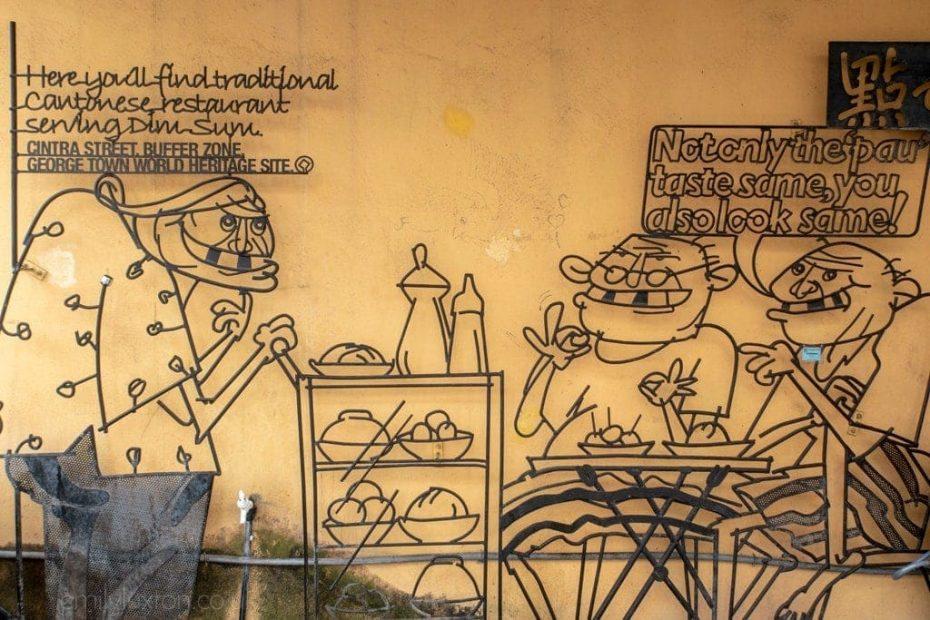 dim sum Georgetown Penang Malaysia