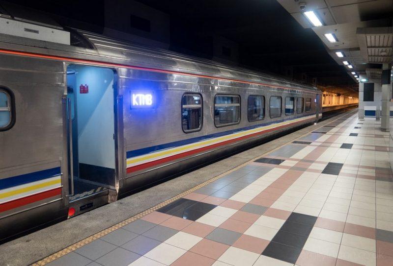 Singapore to Malaysia Train