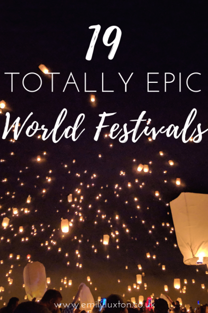 19 Epic World Festivals for 2020