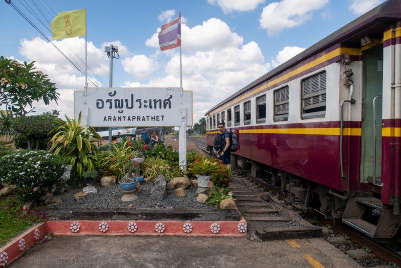 Bangkok to Siem Reap Train