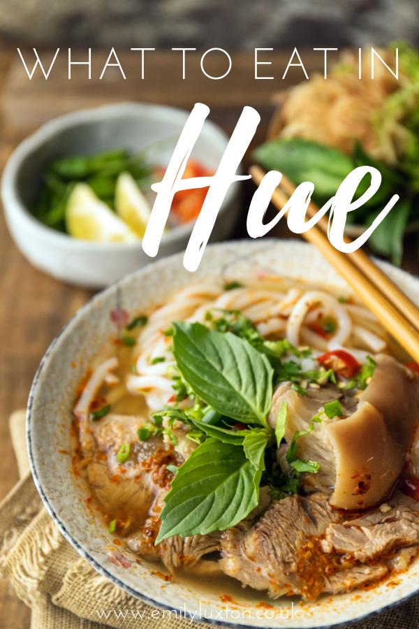 Hue Food Guide
