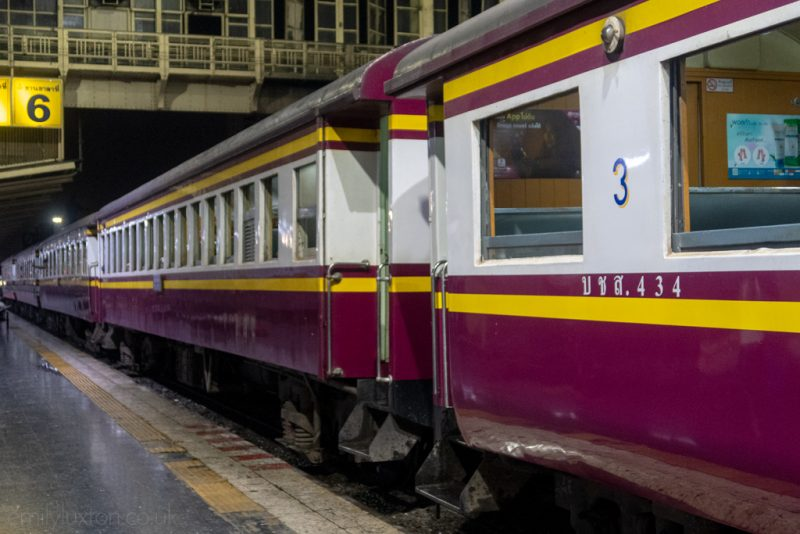 South East Asia train travel