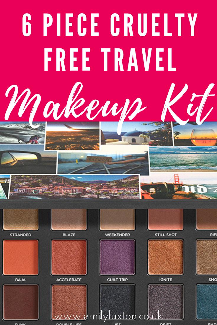 6 Piece Cruelty Free Travel Makeup Kit