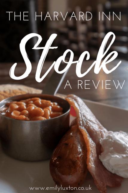 Review - The Harvard Inn, Stock
