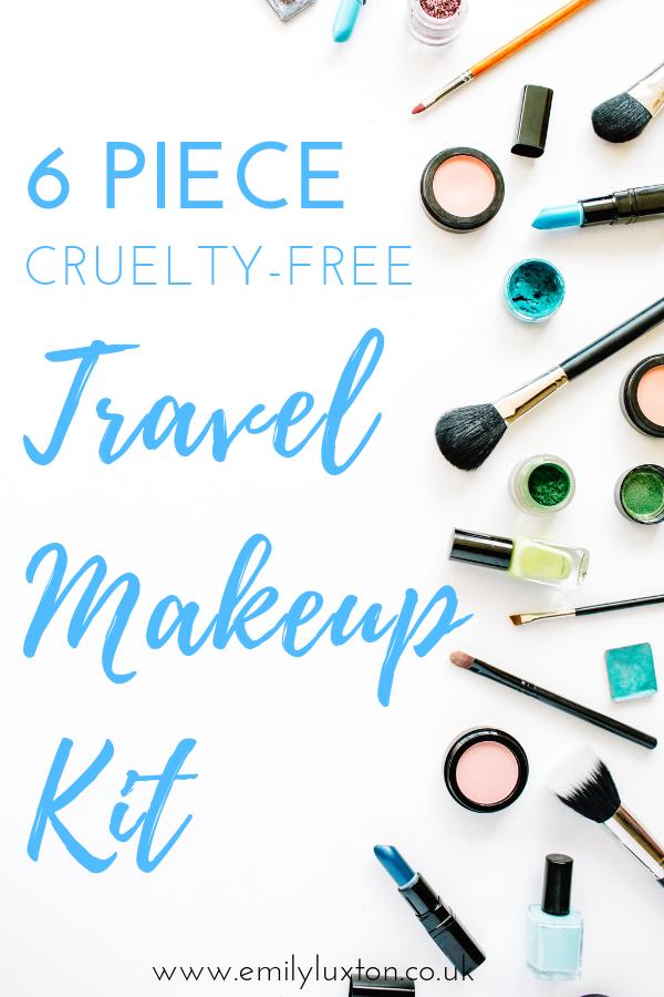 6 Piece Travel Makeup Kit