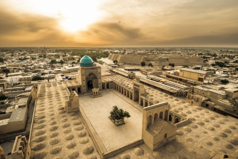 places to visit in uzbekistan