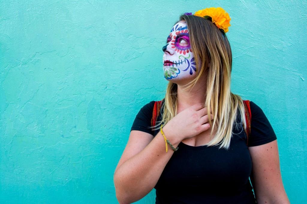 Dia de Muertos Face Paint