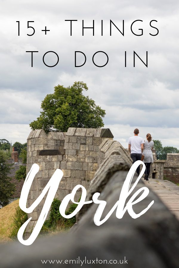 15+ Things to do in York England