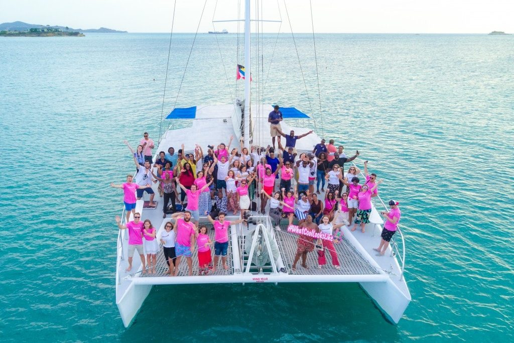 sunset party cruise antigua