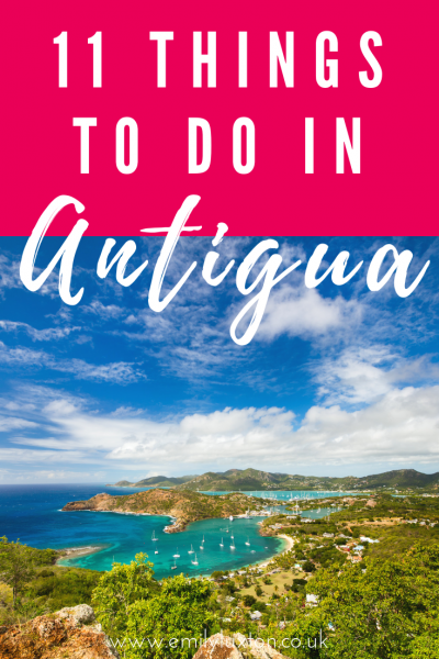 11 of the Best Things to do in Antigua Caribbean