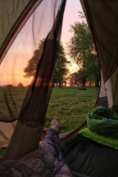 Camping with small group tours in USA