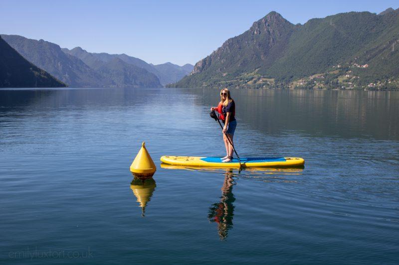 SUP Lake Idro Trentino