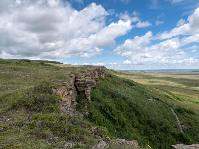Blackfoot history Alberta