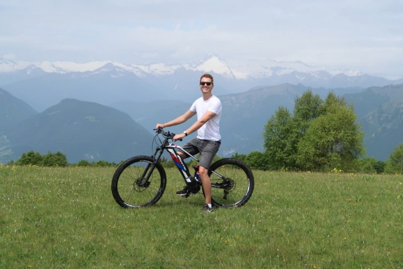 Mountain biking in Trentino Italy