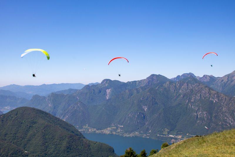 Paragliding Lake Idro Trentino
