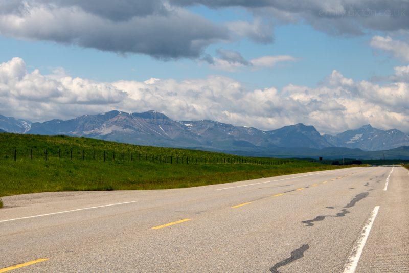 Solo Road Trip in Alberta Canada