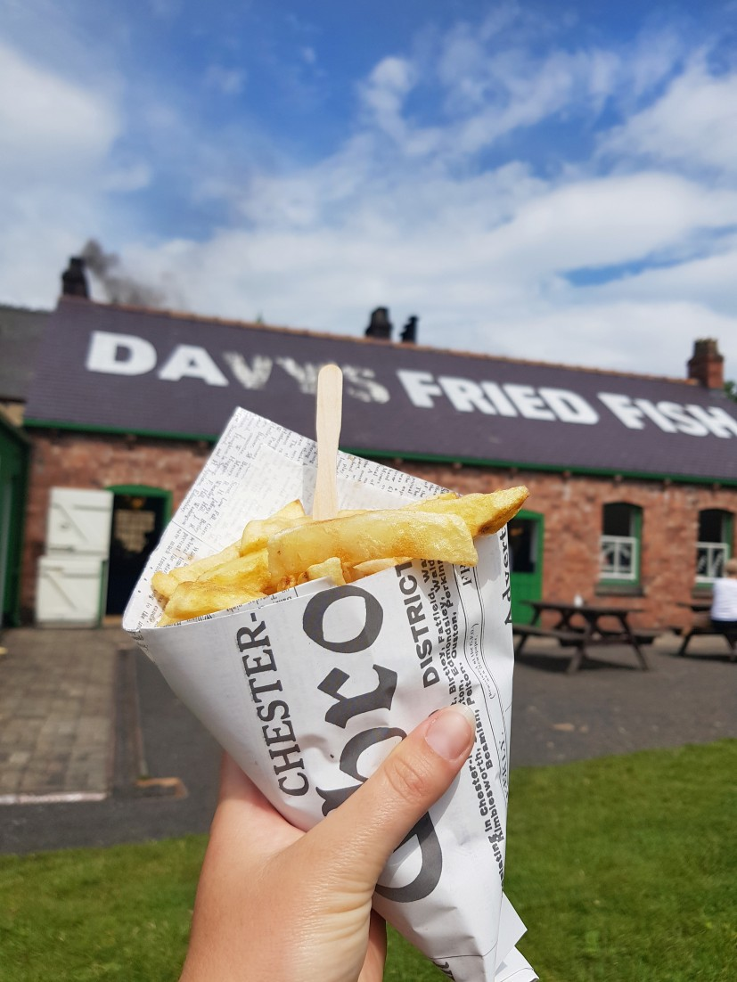 Fish and Chips in Newspaper