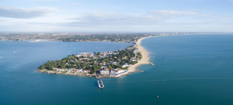 Sandbanks Peninsula and Poole Harbour
