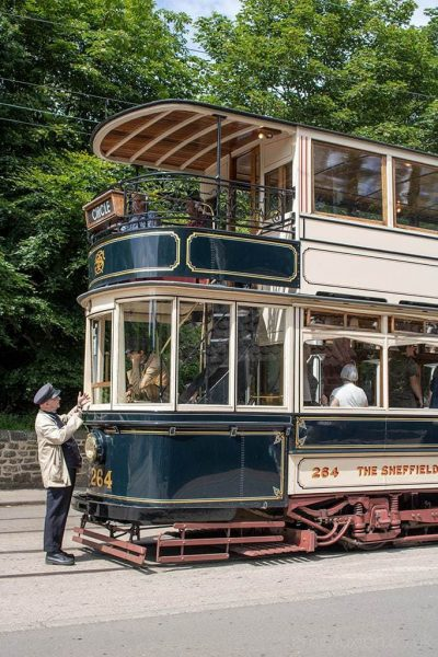 Beamish Museum transport network