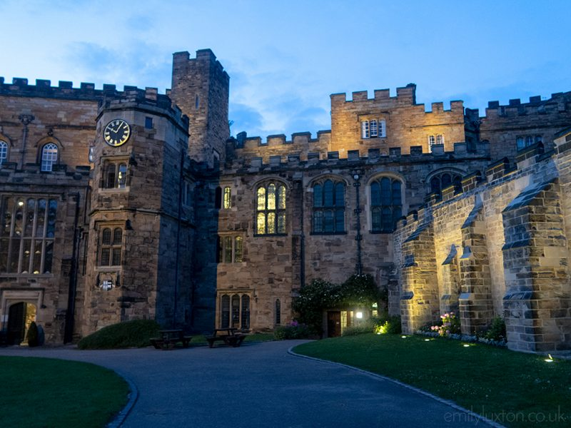 stay in a castle in durham city