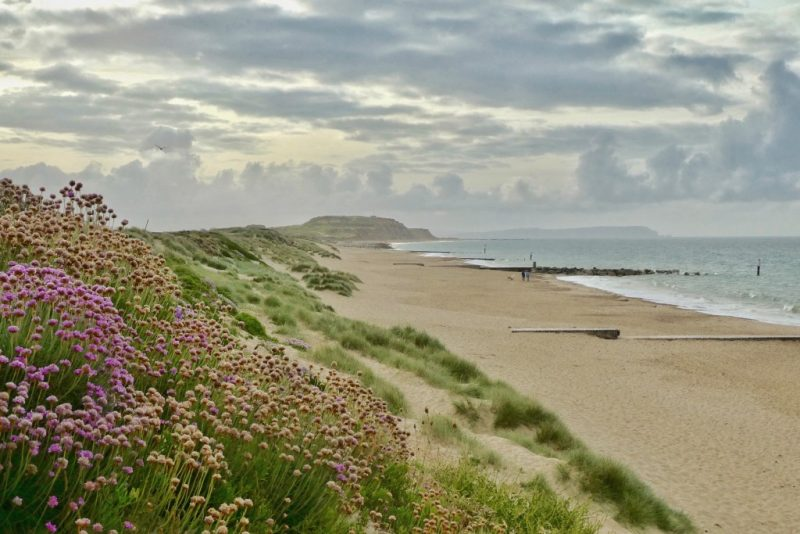 Hengistbury Head beach Dorset