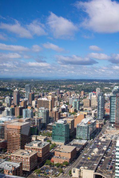 Calgary Tower Alberta Canada
