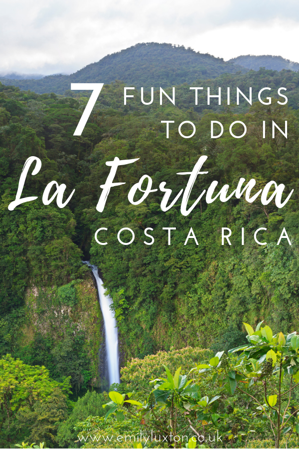 7 Fun Things to do in La Fortuna Costa Rica