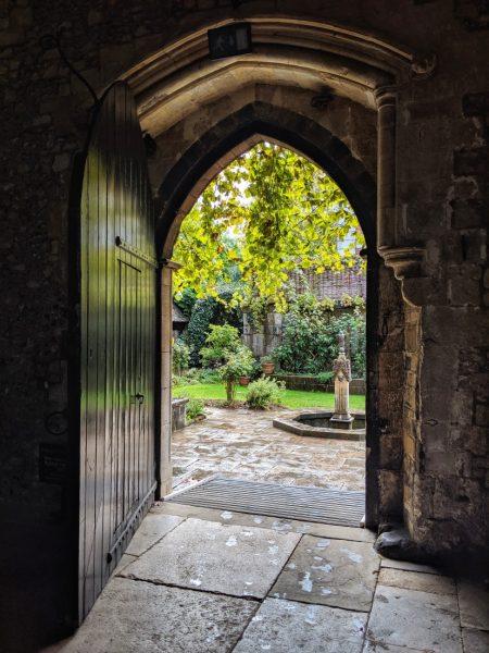 Doorway in The Great Hall Winchester