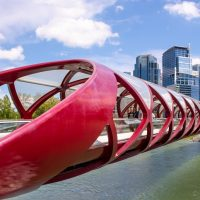 Peace Bridge Calgary Alberta Canada