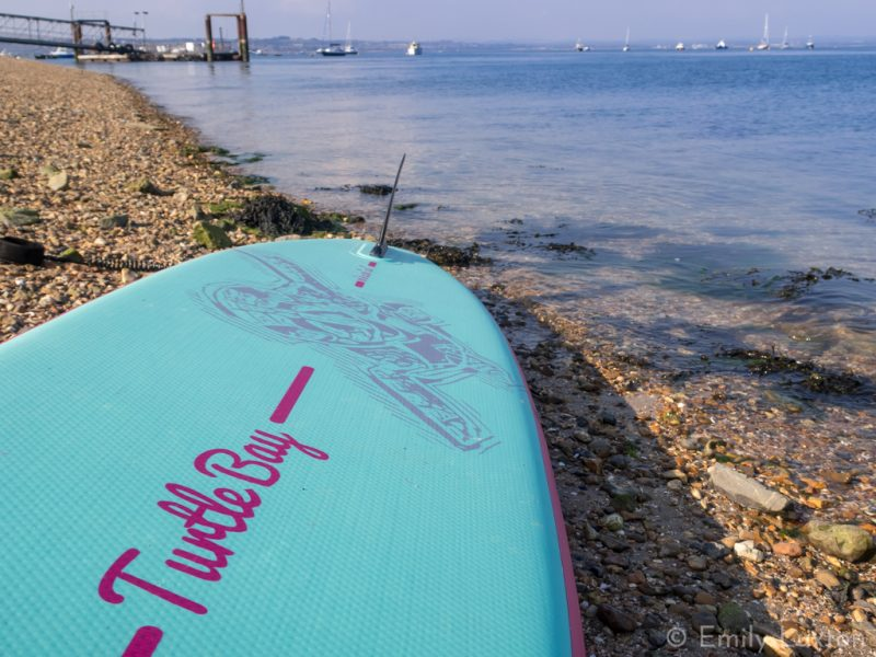 Adventures on my New Inflatable Paddleboard