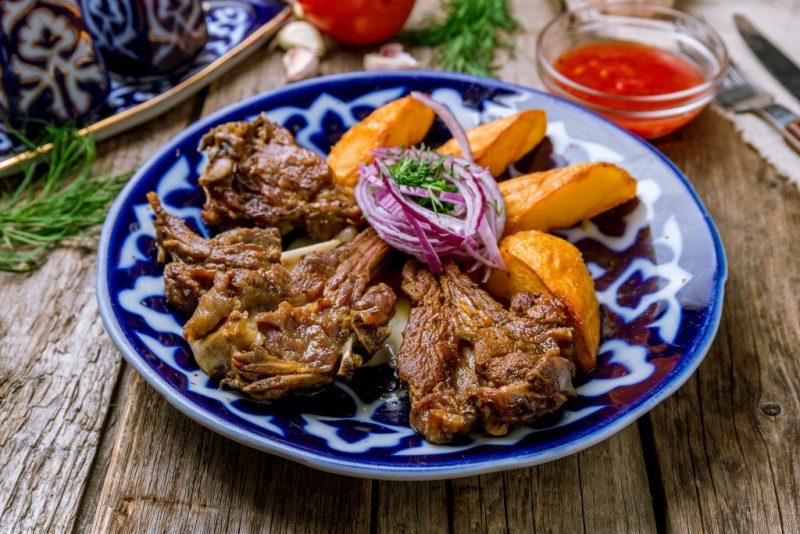 Uzbekistan kebabs