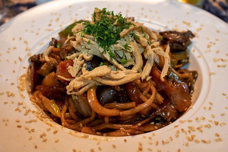 Lagman - noodle dish in Uzbekistan